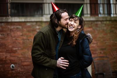 Colin & Lauren Curbside