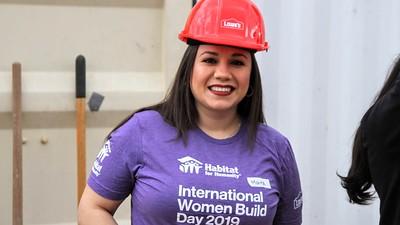 International Women Build Day 2019 - 3.8.19 - Zenegebriel - 37070 - Lowe's - Roofing / Framing / Block Wall