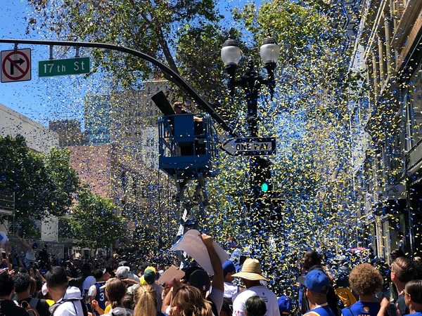 2018 Warriors Parade