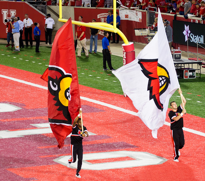 UL gets to run its own Touchdown Flags.