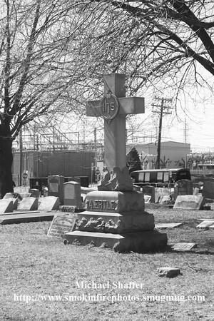 English Reformed Church / Cemetery of Ridgefield  4-06-2014