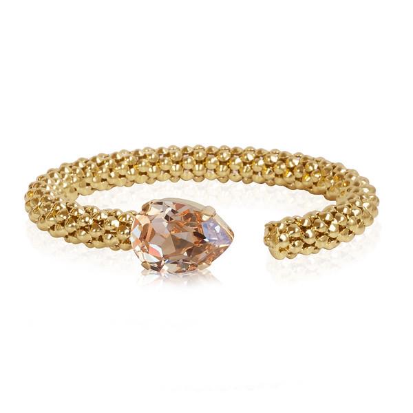 Classic Rope Bracelet / Silk / Gold
