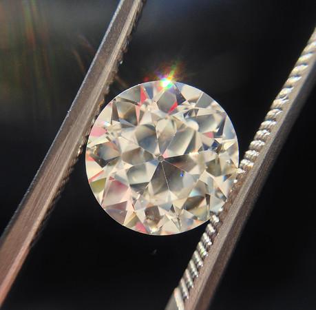 2.37ct Old European Cut Diamond G M SI2