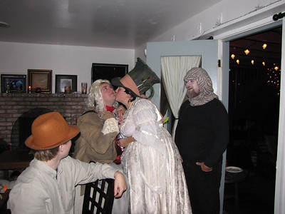Our first home haunt party