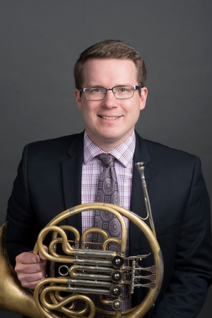 Jonas Thoms with French horn