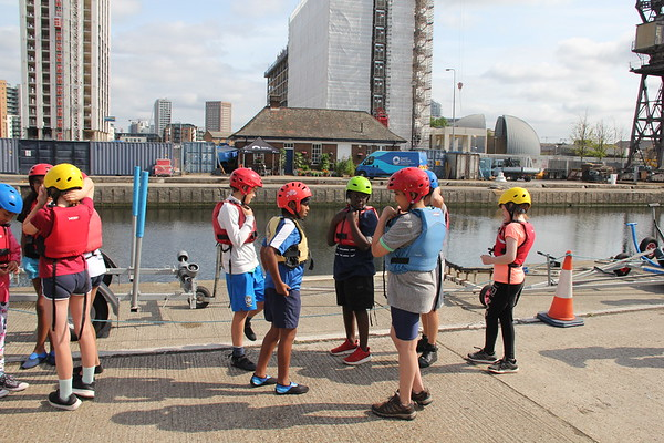 Docklands water sport day