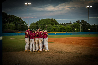 Walker Baseball 2014, K Ridge, final game