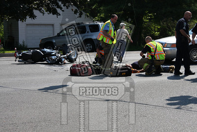 Manchester, Ct MC accident