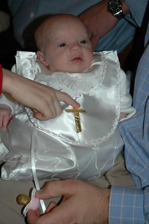 Sophie's Christening