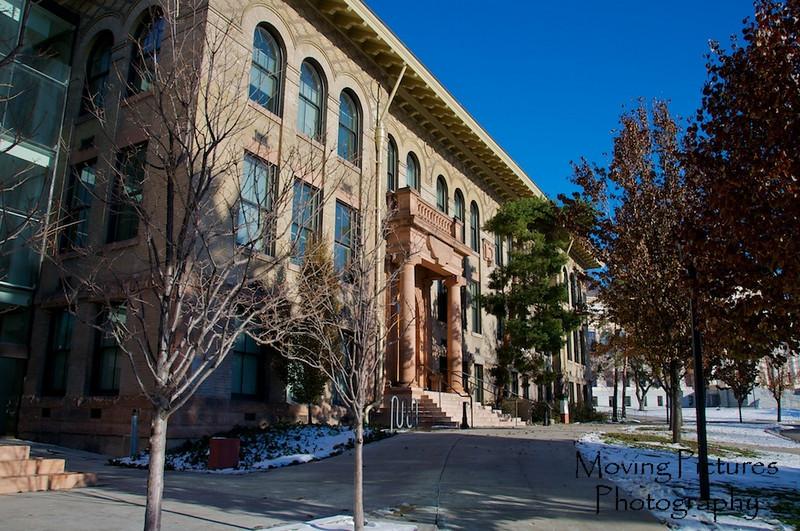 Math building on University of Utah campus