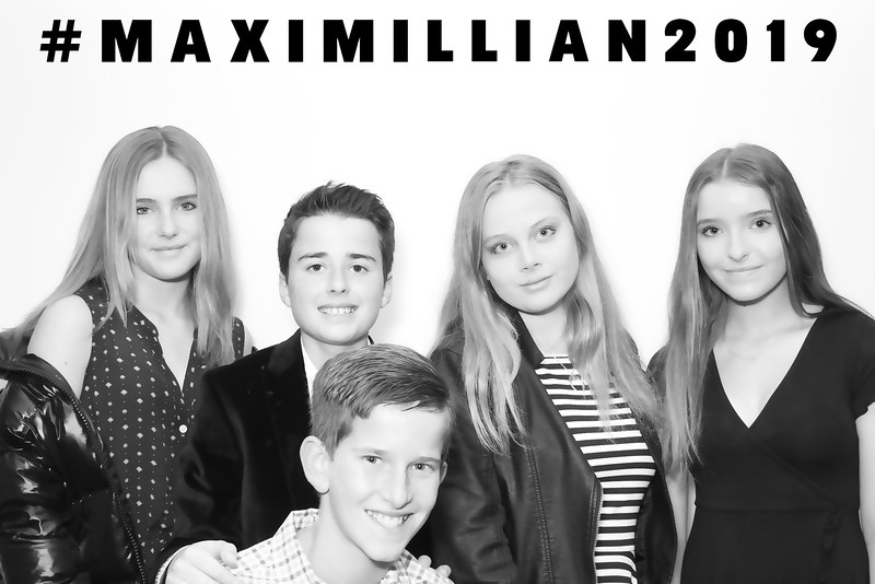 Maximillian's Birthday (BW SkinGlow Booth)