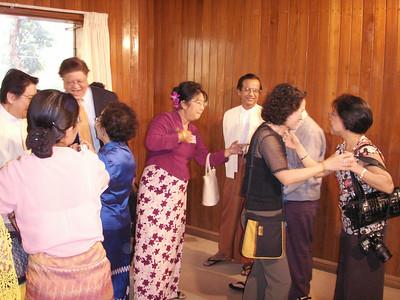 Saya Nagakoko's trip to Myanmar 2006