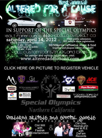 Altered for a Cause Car Show for the Special Olympics