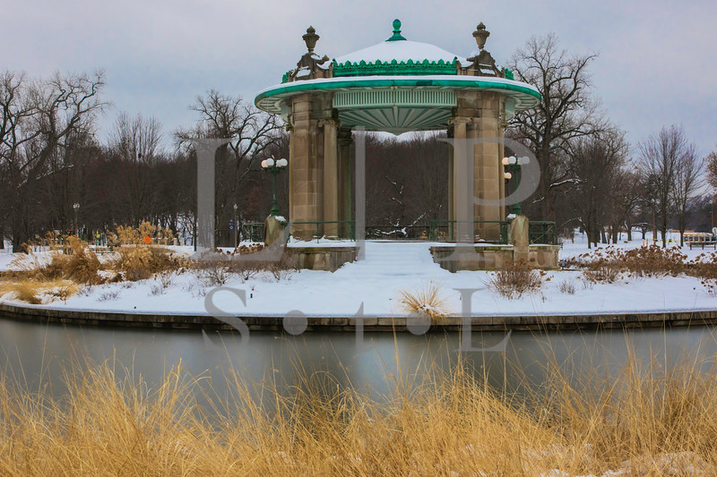 1904 Band Stand Snow