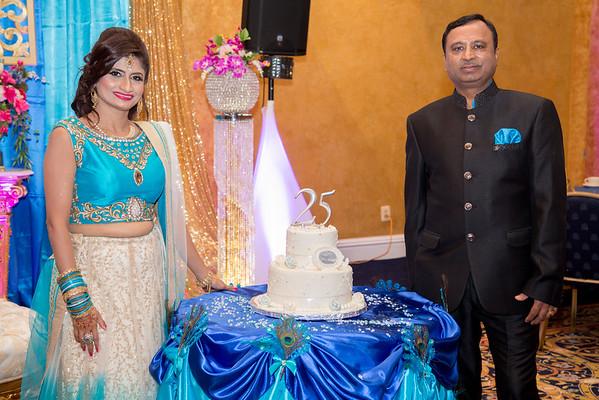 Seema & Ashok 25th Wedding Anniversary