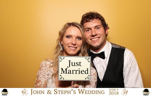 John & Steph's Wedding