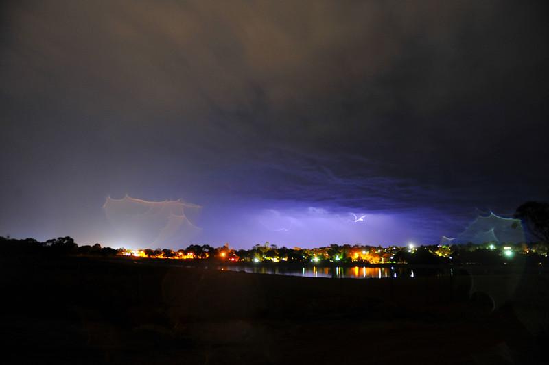 Storm passes over Paringa