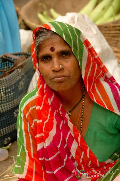 Proud Market Vendor in Udaipur, India