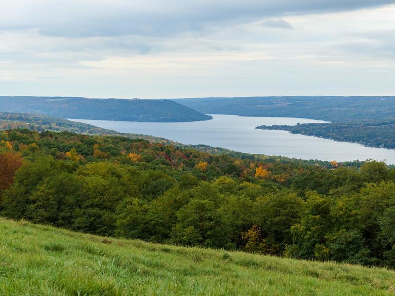 Keuka Lake in Finger Lakes, New York