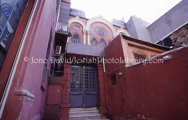TURKEY, Istanbul. Ashkenazi Synagogue. (2004)