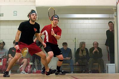 2010-01-23 Alex Dodge (St. Lawrence) and Dale Kobrin (Wesleyan)