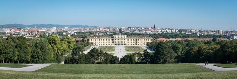 View of Vienna from Gloriette
