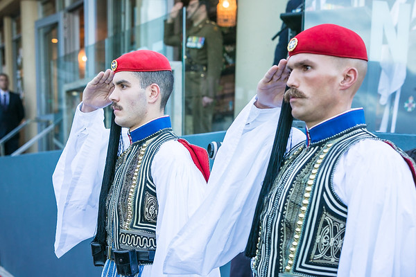 2018 Greek Presidential Guard Dawn Service Sydney Australia