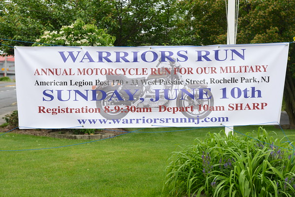 Warrior's Run, Inc's 5th Annual Motorcycle Run 2018