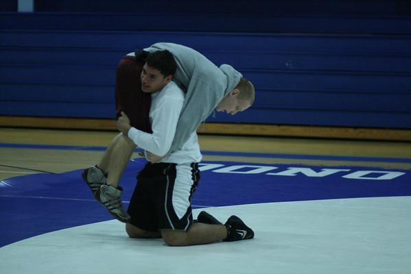 2012 MRHS Varsity Wrestling at Monsignor Donovan