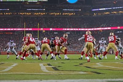 Giants vs 49ers Monday Night Football