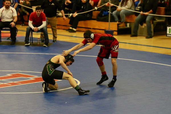 Section IX Division II Wrestling Championships 2-10-19
