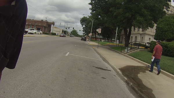 Ride through downtown Ardmore, Oklahoma.