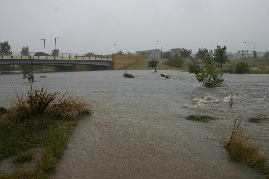 . Westerly Creek Flooding. Photo by Todd Ahlenius