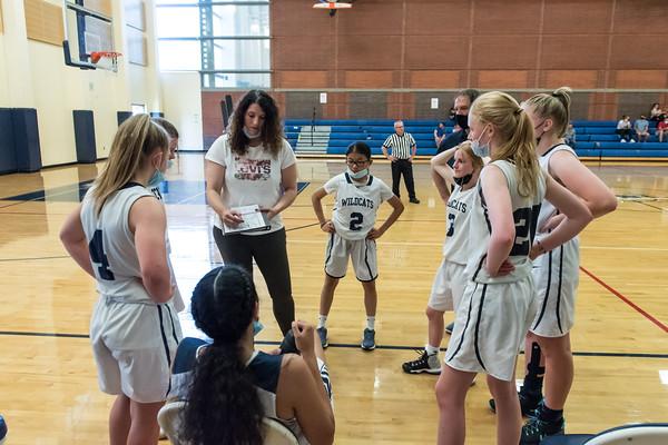 2021 Girls JV2 Basketball vs. North Marion