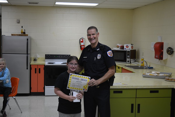 Oct. Student of the Month