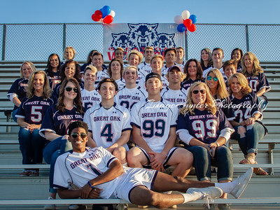 Great Oak Wolfpack Senior Night 2018