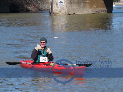 46th Annual Kayak Race by Vermilion's Keel Haulers, March 30th 2014