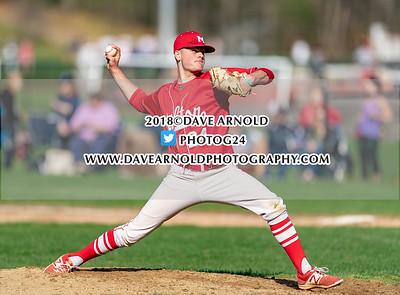 5/1/2018 - Varsity Baseball - Milton vs Needham