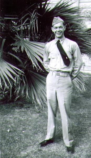 Ensign Wayne J. Eldredge, Naval Indoctrination School, Tuscon, AZ, 7-43