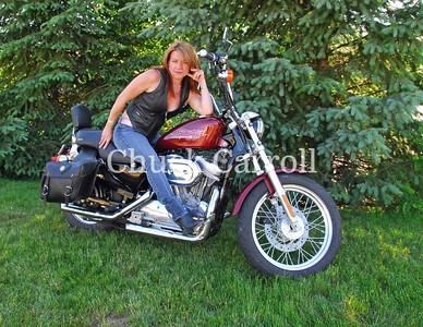Carol  --  Bike Portraits