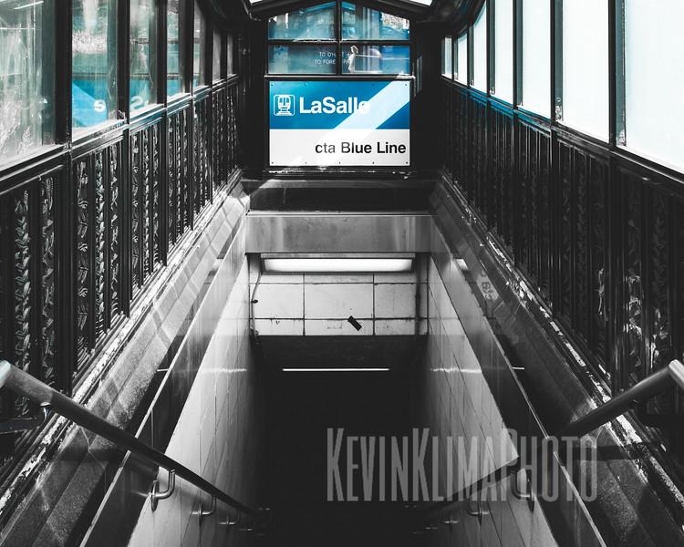 LaSalle CTA Blue Line
