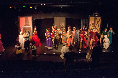 into the woods conservatory Friday Cast