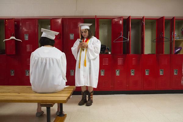 Westview Junior High School graduation