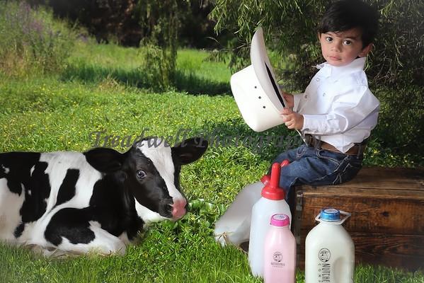 Kid and a Calf