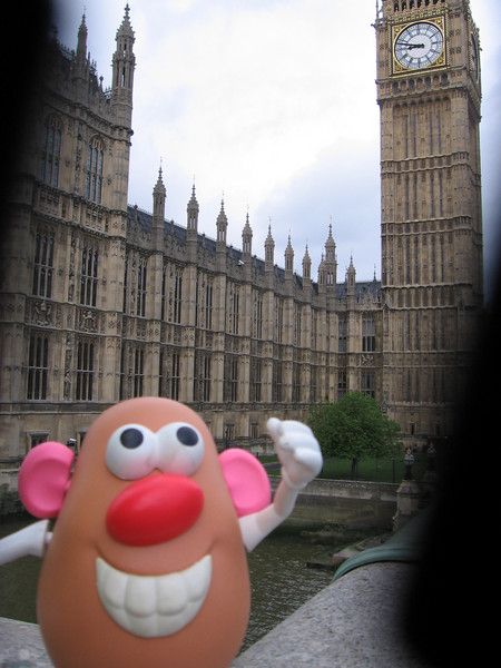 Mr. Potato Head at Big Ben