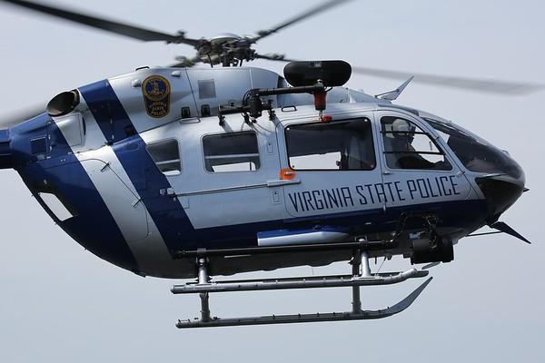 Virginia Department of State Police 2010 Eurocopter Deutschland GMBH MBB-BK 117 C-2, Richmond, 06Apr18