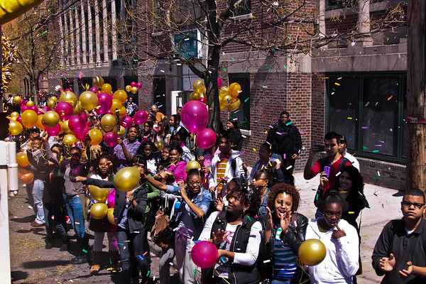 New York State Champions Parade!  4/14/11