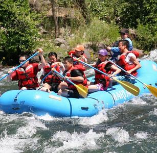 Whitewater Rafting, 2007