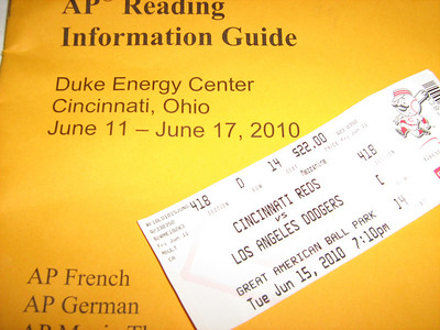 AP German Reading in Cincinnati 2010