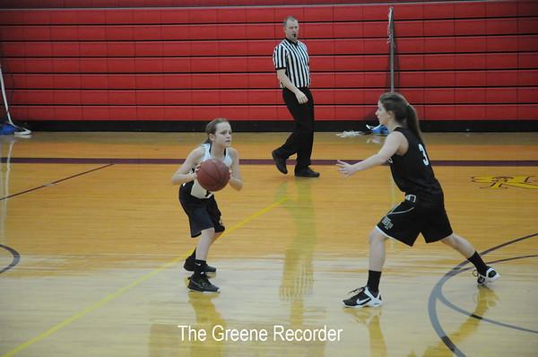 MS Girls Basketball vs WF